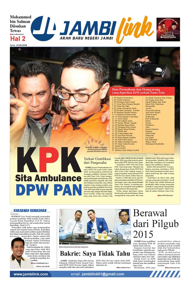 Cover Halaman 1 Jambi Link
