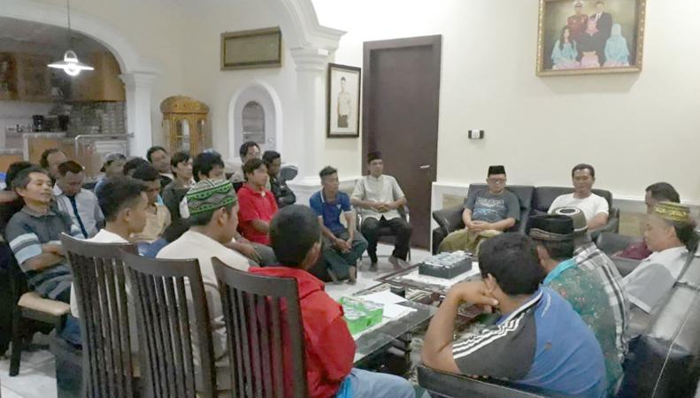 Alih dukungan masyarakat Nalo Tantan untuk FAJAR