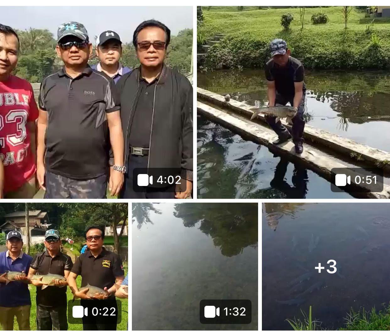 Ketua PB HKK Nasional Tabur Ikan Semah.