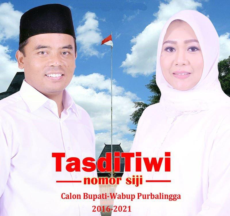 Bupati Tasdi dan Wabup Tiwi