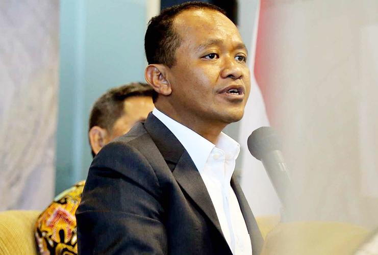 Ketua Umum BPP HIPMI Bahlil Lahadalia