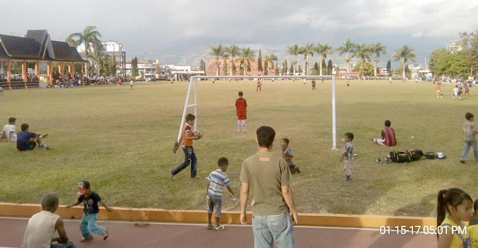 Lapangan Merdeka Kota Sungai Penuh.