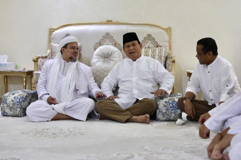 Prabowo dan Habib Rizieq