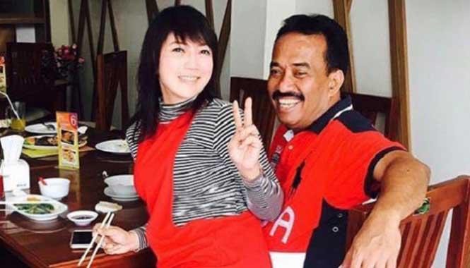 Walikota Blitar dan Istri
