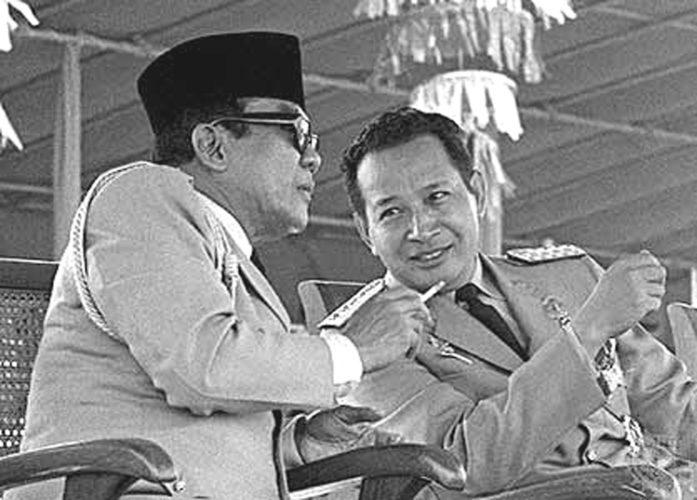 Soekarno, Soeharto
