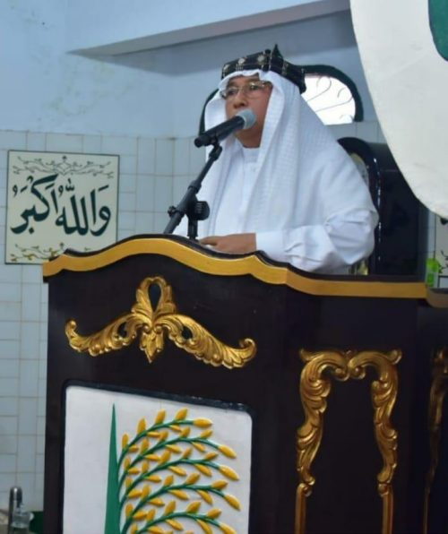 Prof Dr Muhammad Saiful Akhyar Lubis MA dari DPD JmI Sumatera Utara.