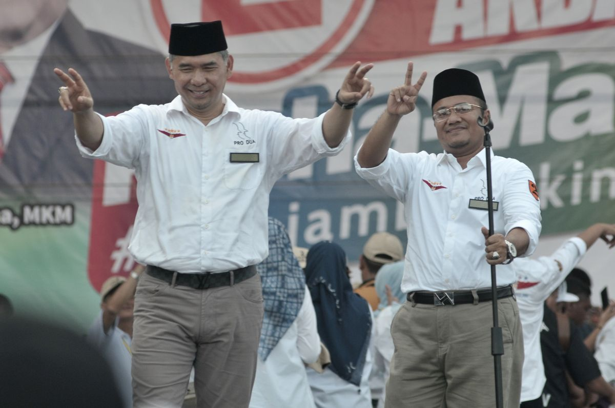 Walikota Syarif Fasha bersama Wakil Walikota Jambi Maulana 2018-2023