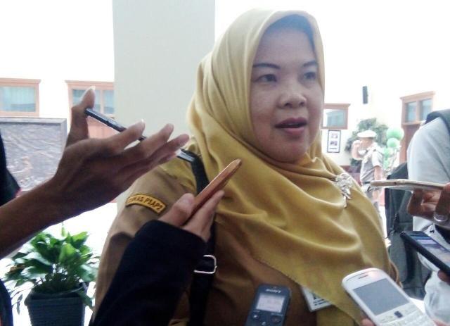 Kepala Dinas Pemberdayaan Perempuan dan Perlindungan Anak dan Pengendalian Penduduk (DP3AP2) Provinsi, Jambi Dra Luthpiah