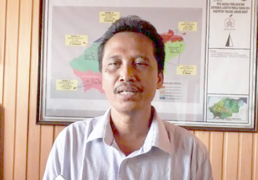 Ketua KPUD Tanjab Barat, Hairuddin