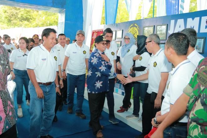 Gubernur Jambi, Dr.Drs.H.Fachrori Umar,M.Hum