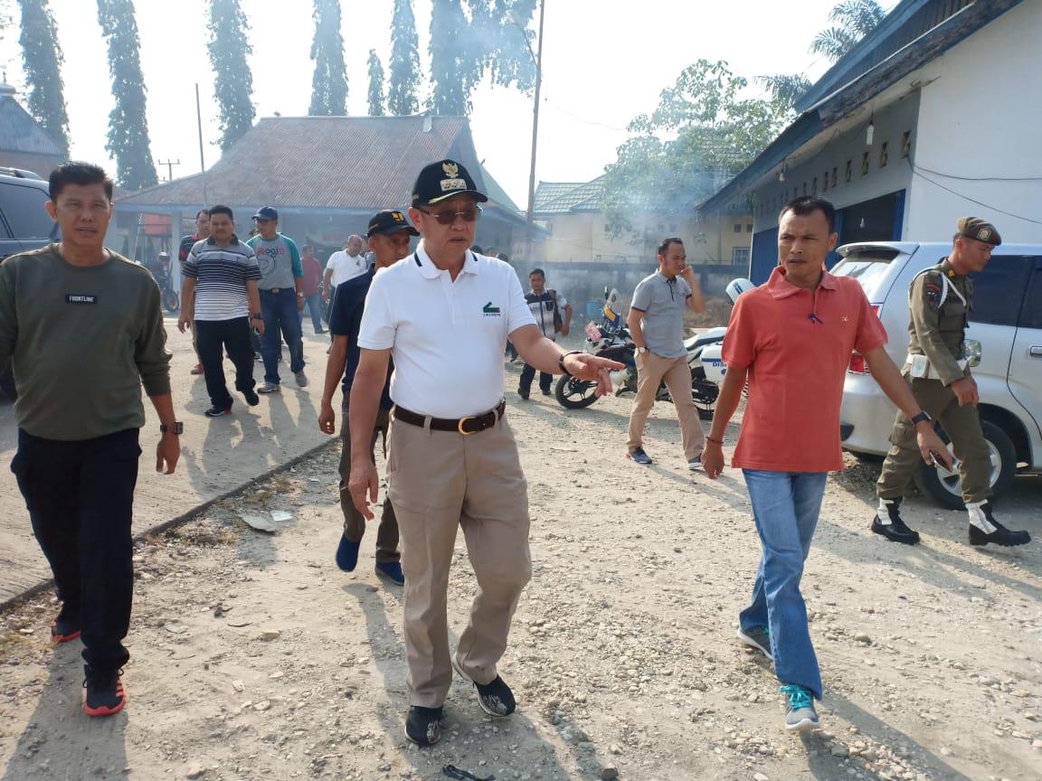 Cek Endra disela-sela aktivitasnya memimpin Sarolangun