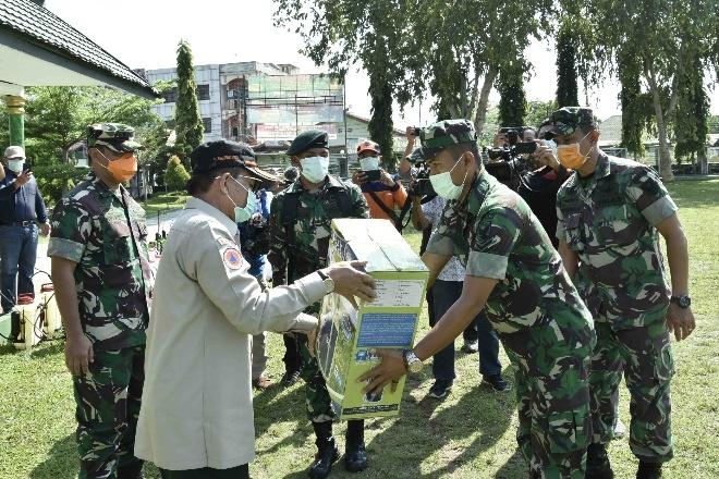 Fachrori Terima Bantuan APD dari Pemerintah Pusat dan Segera di Distribusikan ke Faskes Terutama Medis