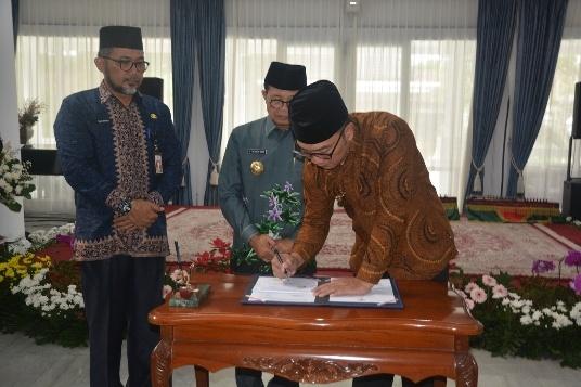 Fachrori – Ridwan Kamil Teken Kesepakatan Kerjasama Daerah