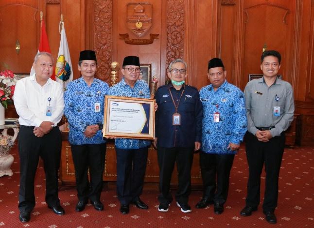 Fachrori Terima Penghargaan Kapabilitas APIP Lvel 3