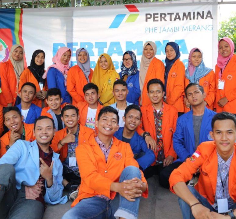 Para peserta workshop investigasi dari utusan pers mahasiswa.