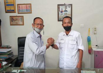Hendry Nursal dan Ridwan Agus kompak dengan salam komando