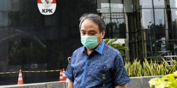 Tersangka Direktur dan Komisaris PT Sharleen Raya (JECO Group), Hong Arta John Alfred