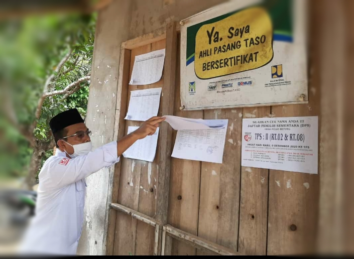 Muhammad Sanusi, komisioner KPU Provinsi Jambi