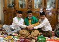 HBA, Cek Endra dan Al Haris terlihat mesra dengan salam tumpuk.