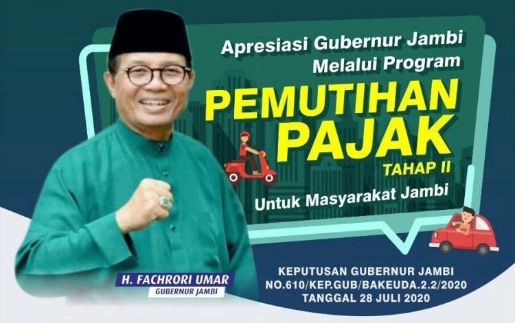 Gubernur Jambi, Fachrori Umar.