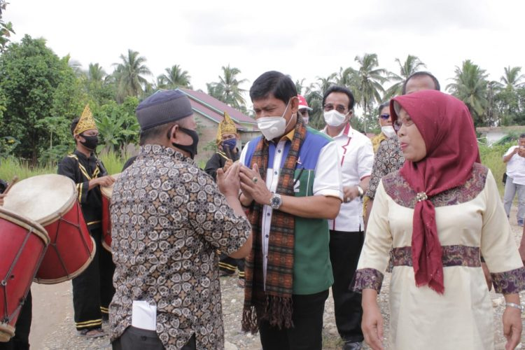 Syafril Nursal sewaktu berkampanye