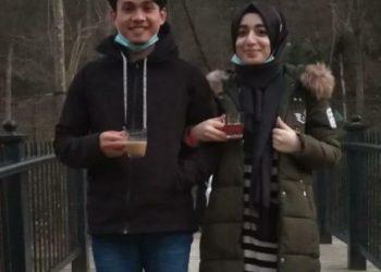 Muhammad Tawalli dan calon istrinya Edanur Yildiz